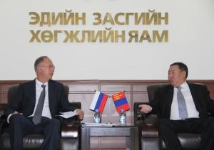 Оросын шууд хөрөнгө оруулалтын сангийн ерөнхийлөгчтэй уулзлаа
